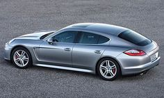 Porsche Panamera, when I first saw it I thought it was a Carrera with four doors but it was the stylish new Porsche Panamera!!! My type of car!