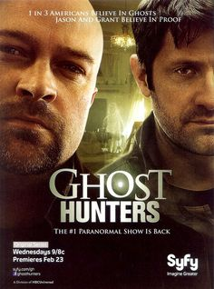 Ghost Hunters.  I miss Grant.  Lucky I investigated with him & Jason when I was in New Hampshire.