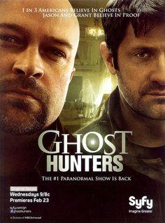 Ghost Hunters...love