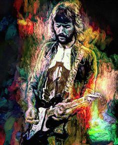 Eric Clapton, Joker, Cream, Painting, Fictional Characters, Art, Creme Caramel, Art Background, Painting Art