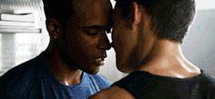 dudetube: Khylin Rhambo & Michael Johnston in Teen Wolf