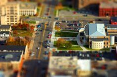Efecto Tilt-Shift o Efecto de miniaturas en photoshop | HD | Tutorial en...