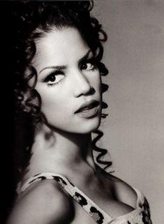 "theghay: "" Veronica Webb by Keith Major. Aaliyah, Sarah Stage, Veronica Webb, African American Models, Niki Taylor, Wale, Black Image, Black Girls Rock, Shiseido"