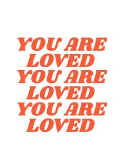 You are Loved! #inspirational #quote Trust Quotes, Words Quotes, Happy Words, Tumblr Quotes, Pretty Words, Some Words, Wallpaper Quotes, Positive Quotes, Motivational Quotes