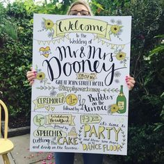 Wedding Welcome Signs, Wedding Signs, Wedding After Party, Wedding Reception, Wedding Fun, Reception Ideas, Wedding Bells, Wedding Stuff, Order Of The Day Wedding