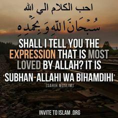 Subhanal-lahi ♥ سبحان الله