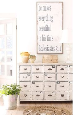 He makes everything beautiful by BetweenYouAndMeSigns on Etsy
