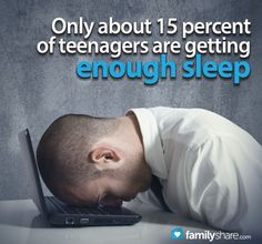 It is well documented that teens operate on a different wake/sleep schedule than adults, but life schedules, like work and school, don't take this into account. Your teen may need your help to keep him or her functioning.