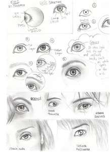 How to draw realistic eyes by takamin on deviantart Basic Drawing, Drawing Skills, Drawing Techniques, Life Drawing, Drawing Tips, Drawing Sketches, Realistic Eye, Realistic Drawings, Eyes