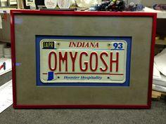 License Plate Framing