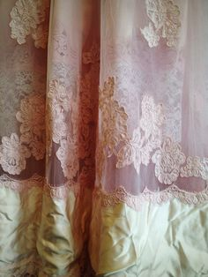 Hey, I found this really awesome Etsy listing at https://www.etsy.com/listing/171191122/ballerina-pink-ivory-alencon-lace-tulle