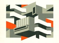 London Transport poster printmaker and illustrator Paul Catherall - Southbank Repeat