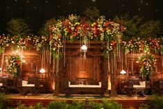 Javanese traditional wedding decorations