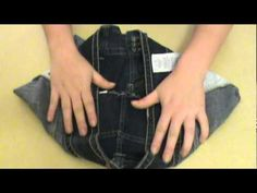 How To Make A Purse Out of a Pair of Jeans by Austin Howell