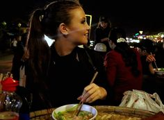 The best part of travelling is the FOOD! Pho in Vietnam... YUM!