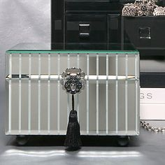 Mirrored Jewelry Box | Zzgifts-2500-5000 | Z Gallerie