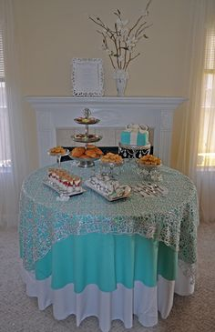 Breakfast At Tiffany'S/Tiffany and Co Birthday Party Ideas | Photo 2 of 7 | Catch My Party