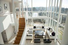 【スライドショー】米建築家リチャード・マイヤー設計のNY州の邸宅 - WSJ.com