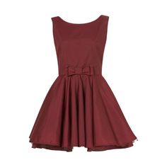Jones and Jones Red Hot Burgundy Prom Dress ❤ liked on Polyvore