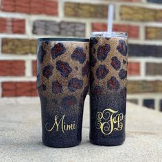 Excited to share this item from my shop: Reverse Cheetah/Leopard Print Ombre Glitter Tumbler Diy Tumblers, Custom Tumblers, Glitter Tumblers, Tumblr Cup, Giuseppe Zanotti Heels, Yeti Cup, Custom Cups, Coffee Tumbler, Glitter Cups