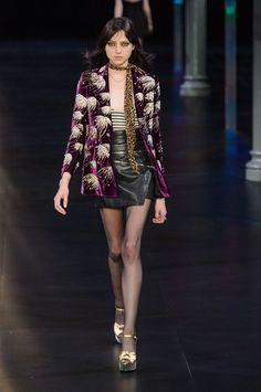 Out-of-the-Ordinary Animal Prints - Saint Laurent Spring 2015