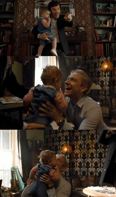 I loved this so much! Sherlock is so good with Rosie!