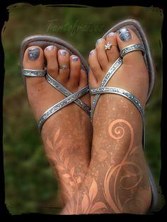 Pedicure Designs, Toe Nail Designs, Nails Design, Toe Nail Art, Nail Nail, Nail Polish, Pretty Toes, Pretty Nails, Love Nails