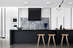 This contemporary home is located in Williamstown, a suburb of Melbourne, Victoria, Australia. It was designed in 2016 by Fiona Lynch, an award winning design studio located in Melbourne.The primary materials used in its construction are concrete, solid oak, and stone, coming together to create an interior that is elegant and stylish without sacrificing a sense of coziness that makes it feel like home, even at first sight. The color..