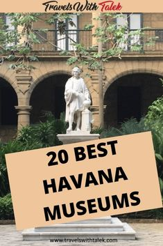 Are you interested in arts, artifacts, and sculptures that tell hundreds of years of history in Cuba? Here are the top museums in Havana, Cuba you can visit for these interests! Cuba Travel, Mexico Travel, Barbados, Cuba Itinerary, Oregon, Arizona, Visit Cuba, South America Travel, North America