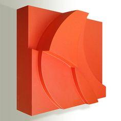 Delsy Rubio | Autumn breezes | 20 x 20 x 8 cm | Acrílico/madera | 2015