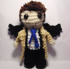 Supernatural Castiel amigurumi----OMG! I MUST HAVE THIS PATTERN!!!