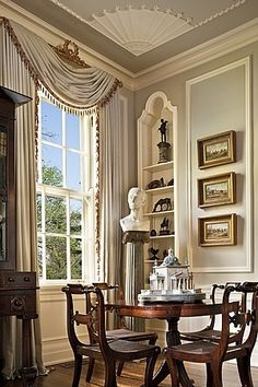 New Home Interior Design: Gothic Revival Restoration....fabulous