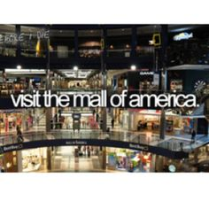 I actually visited the mall of America while at a Pampered Chef conference
