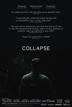 Collapse (documentary film) + Confronting Collapse: The Crisis of Energy and Money in a Post Peak Oil World (ebook) Peak Oil, Best Documentaries, Interesting Documentaries, Movies Worth Watching, Fantasy Island, Best Build, Rotten Tomatoes, Life Choices, Jane Fonda