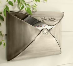 Envelope Mailbox #potterybarn