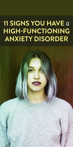 When we think of anxiety disorders, we often think of a stereotype of someone dealing with debilitating emotions that leave them cuddled up on their bed. However, not all anxiety disorders look the same, and you might even be experiencing a… Ways To Reduce Stress, How To Relieve Stress, Anxiety Relief, Stress And Anxiety, Anxiety Help, Overcoming Anxiety, Health Anxiety, Anxiety Tips, Stress Relief