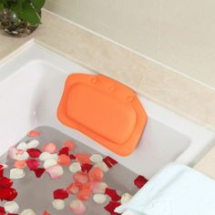 Cheap bathroom supplies, Buy Quality bathroom pillow directly from China bathroom waterproof Suppliers: Bathtub Pillow Headrest Backrest Headrest Suction Cup PVC Spa Cushion Waterproof PVC Bath Pillows Bathroom Supplies Hot Bathtub Pillow, Bathtub Walls, Air Jet Tubs, Ultrasonic Aromatherapy Diffuser, Support Pillows, Bathroom Colors, Flamingo Bathroom, Colorful Bathroom, Relaxing Bath