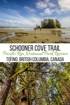 The scenic Schooner Cove Trail winds through the Pacific Rim National Park Reserve near Tofino, British Columbia, Canada and is the perfect place for photography.