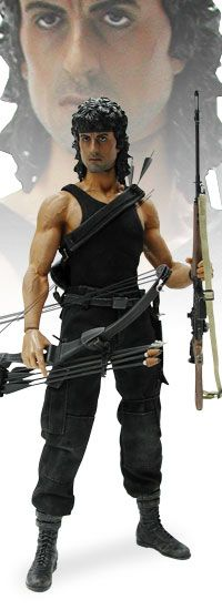 John J. Rambo - Rambo III Sixth Scale Figure by Hot Toys  Limited Edition