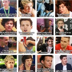 Best 1D quotes! Omg, i love these guys so much!