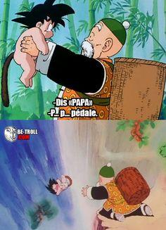 "Dis ""Papa""... - Be-troll - vidéos humour, actualité insolite Rage, Video Humour, Pokemon, Geek Humor, Memes, Funny Moments, Dragon Ball Z, Anime Manga, Otaku"