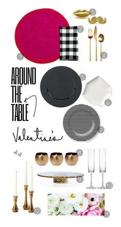 Around the Valentine's Table - via @emily e. hill // EHE
