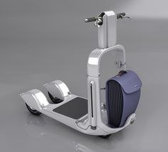 Folding Electric Scooter on Behance