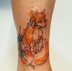 My fox by Amber Robyn at Chronic Ink in Toronto : tattoos