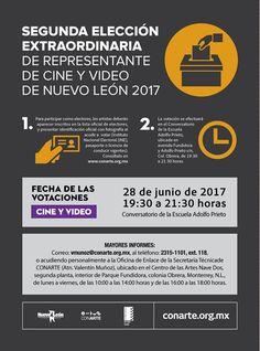 Mañana celebramos la segunda elección extraordinaria de representante de Cine y Video! Cineastas los esperamos en la Escuela Adolfo Prieto a partir de las 19:30H.  #SomosCONARTE