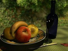 My first try at a still life, done with 3ds Max