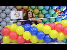 Aprenda a fazer uma Guirlanda 3 CORES - YouTube Balloon Tower, Birthday Balloon Decorations, Free To Use Images, Happy Day, Event Decor, Holiday Parties, Birthday Parties, Crafts For Kids, Dream Wedding