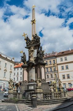 Old Town Square, Prague, Czech Republic - Prague is bisected by the...
