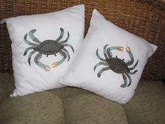 beach decor accent pillows