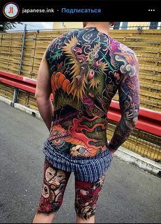 Full Leg Tattoos, Back Tattoos, Cool Tattoos, Back Tattoo Women, Tattoos For Women, Sticker Bomb Wallpaper, Best Tattoo Shops, Asian Tattoos, Samurai Tattoo